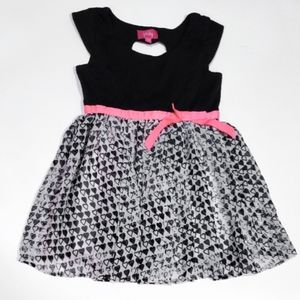 Pinky Fit & Flare Dress 3T